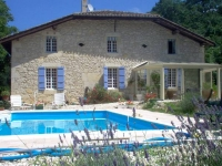 Charming rural 3 keys Clévacances Graded Chambres d' Hotes  Gramont