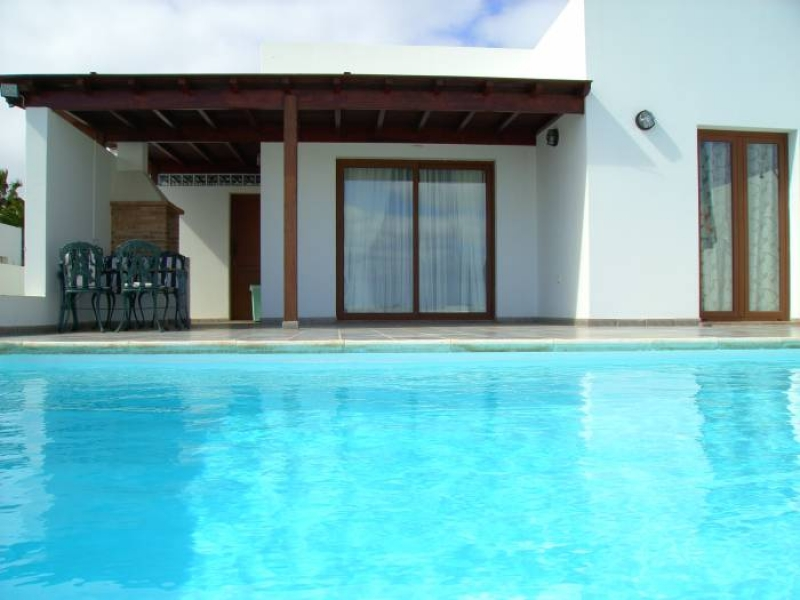 villa indira with mountain and sea view , playa blanca