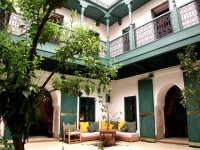 Holiday riad rental in the medina of Marrakech Morocco