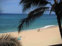 BEACHFRONT AND AFFORDABLE ON DRY SUNNY LEEWARD COAST OF OAHU HAWAII