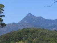Romantic Honeymoon Cottage with Spectacular Views to Mt Warning