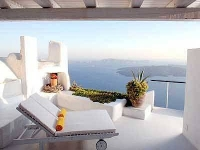 Sea views at Santorini