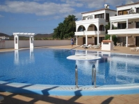 Golf and sea apartment in Amarilla golf