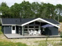 Holiday house on the dunes at Skiveren
