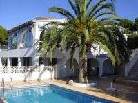 Luxury villa with own heated pool in beautiful Moraira - 3 bedrooms, 2 bathrooms, lounge, dining room, naya, UK channel TV