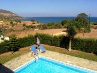 Cyprus Paphos Villa with private pool next to beach Sea views