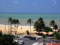Sophisticated beachside apartment with stunning views in Joao Pessoao, Brazil.