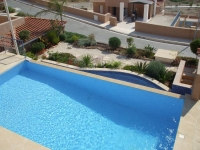 Villa to rent in Tremithousa Paphos with excellent views over Paphos to the sea