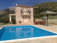 Villa in Katelios, Kefalonia, Greece , with Private Pool, Barbeque and Sea views