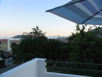 Apartment to rent in Budva, Montenegro with sea views
