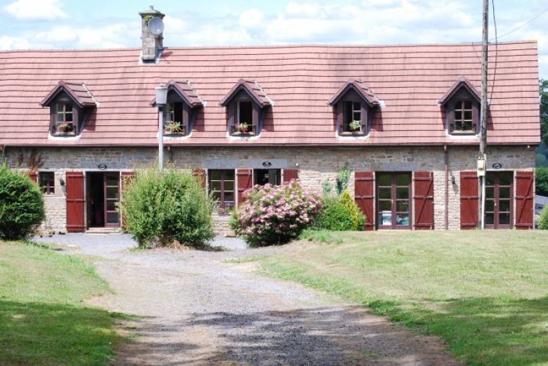 2 & 3 Bed Gites in Rural Normandy, With Indoor Pool