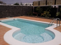 Villa with private pool in Playa Blanca